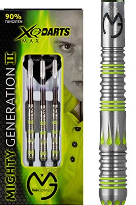 XQ Darts lotki Van Gerwen mighty generation II 21g steel