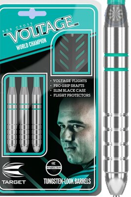 Target lotki Rob Cross silver voltage 24g steel