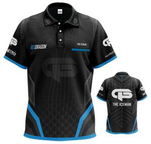 Red Dragon koszulka Gerwyn Price Iceman Tour Polo