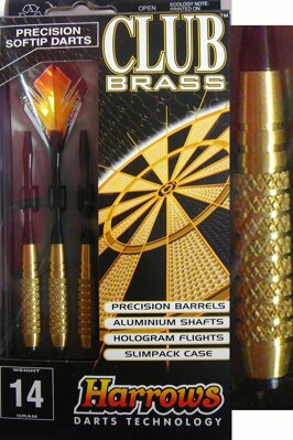 Harrows lotki Club brass 14g