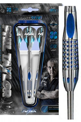 Target lotki Phil Taylor power 9five generation 2 steel 22g